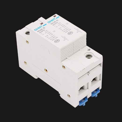 1 Uds. x CHINT CHNT nu6-II 40KA 275V 2P dispositivo de protección contra sobretensiones