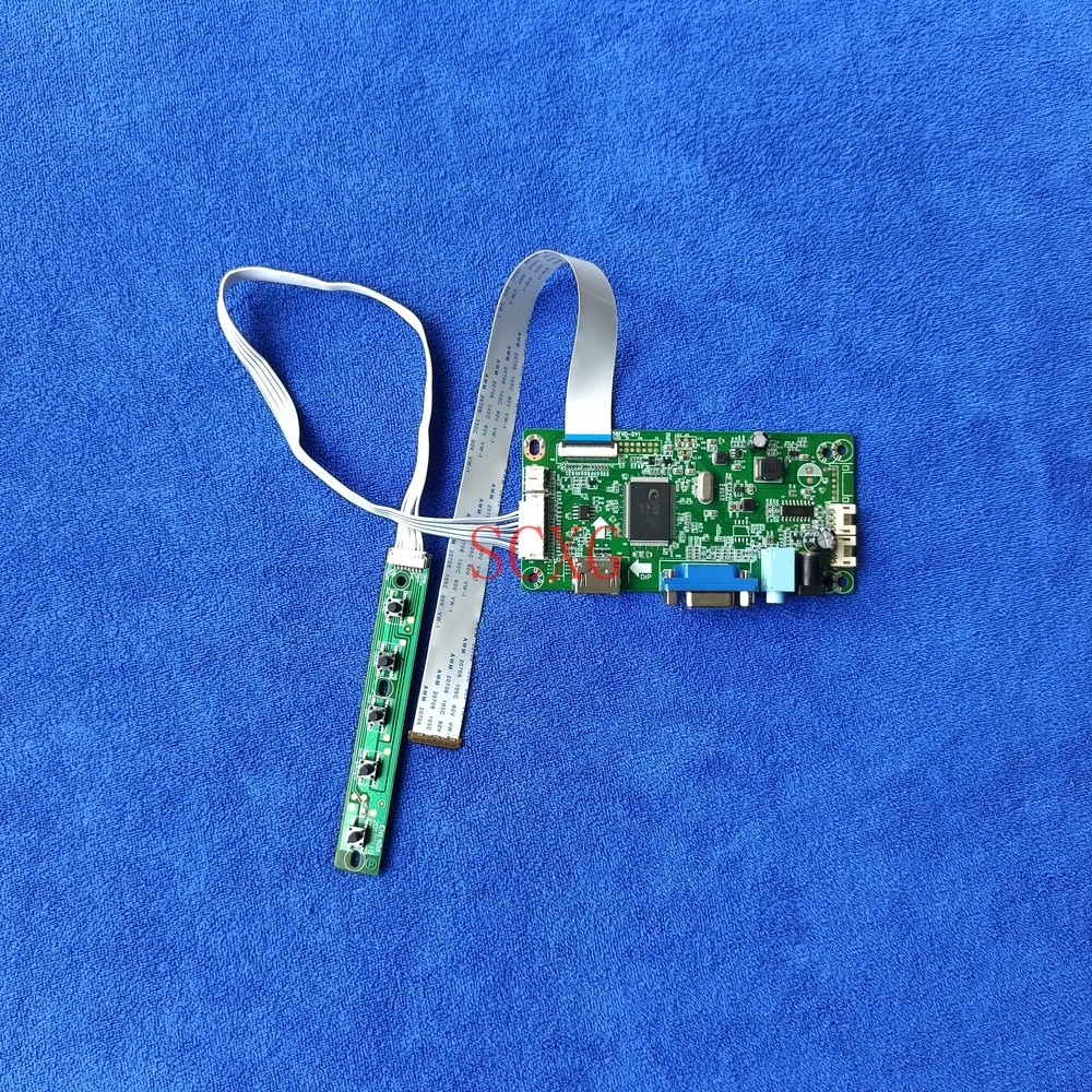 LED الكمبيوتر جهاز تحكم بالشاشة مجلس محرك صالح B140HTN01.1/2/4/6/B/C/D/E/F HDMI-متوافق + VGA eDP 30 Pin Kit لتقوم بها بنفسك 1920*1080 LCD