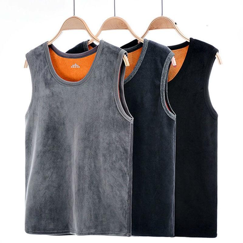 Теплый мужской жилет, сохраняющий тепло, нижнее белье, мужской жилет, мужской зимний термо формирующий жилет большого размера, мужской жиле...