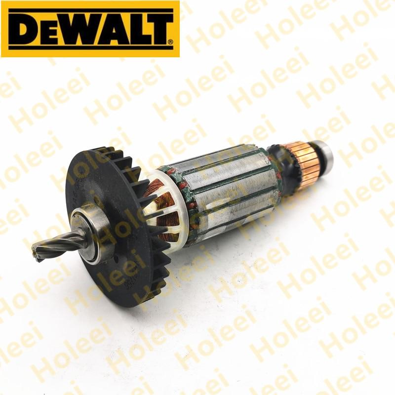Dewalt armadura 230 v rotor para dewalt d25143 d25144 d25263 n418031 n566868 acessórios da ferramenta elétrica ferramentas parte