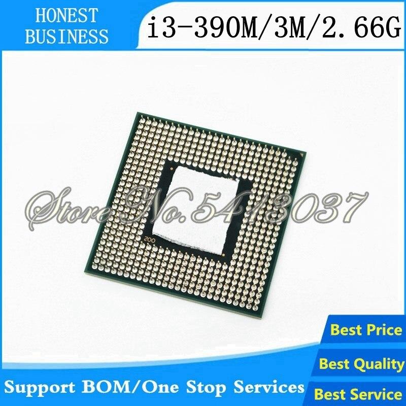 1PCS Laptop CPU i3-390M 3M Cache, 2.66GHz, i3 390M , SLC25 scrattered PGA988