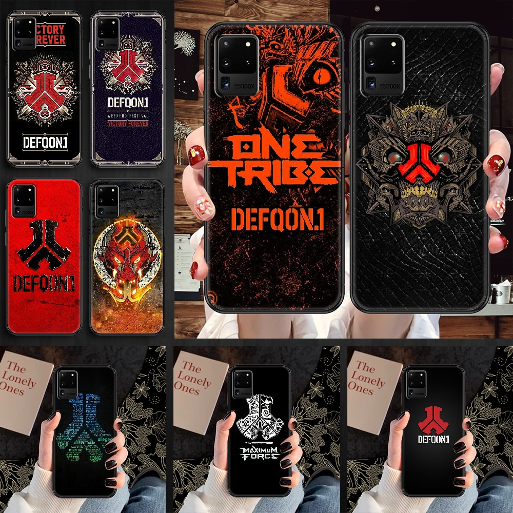 Defqon 1 Music Festival Phone case For Samsung Galaxy Note 4 8 9 10 20 S8 S9 S10 S10E S20 Plus UITRA