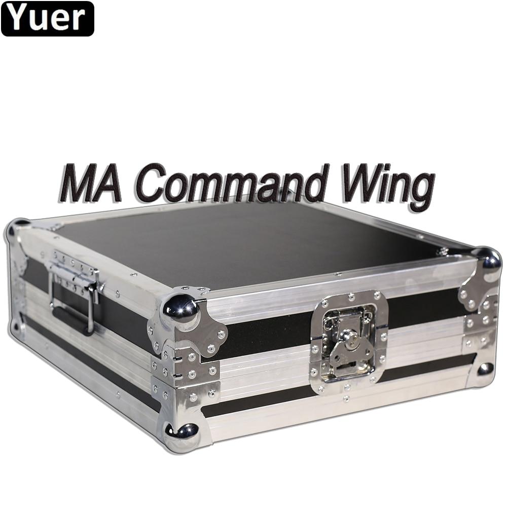 جهاز تحكم في إضاءة المسرح عالي الجودة DMX512 MA ، وحدة تحكم في إضاءة المسرح مع رأس متحرك LED لحفلات الديسكو