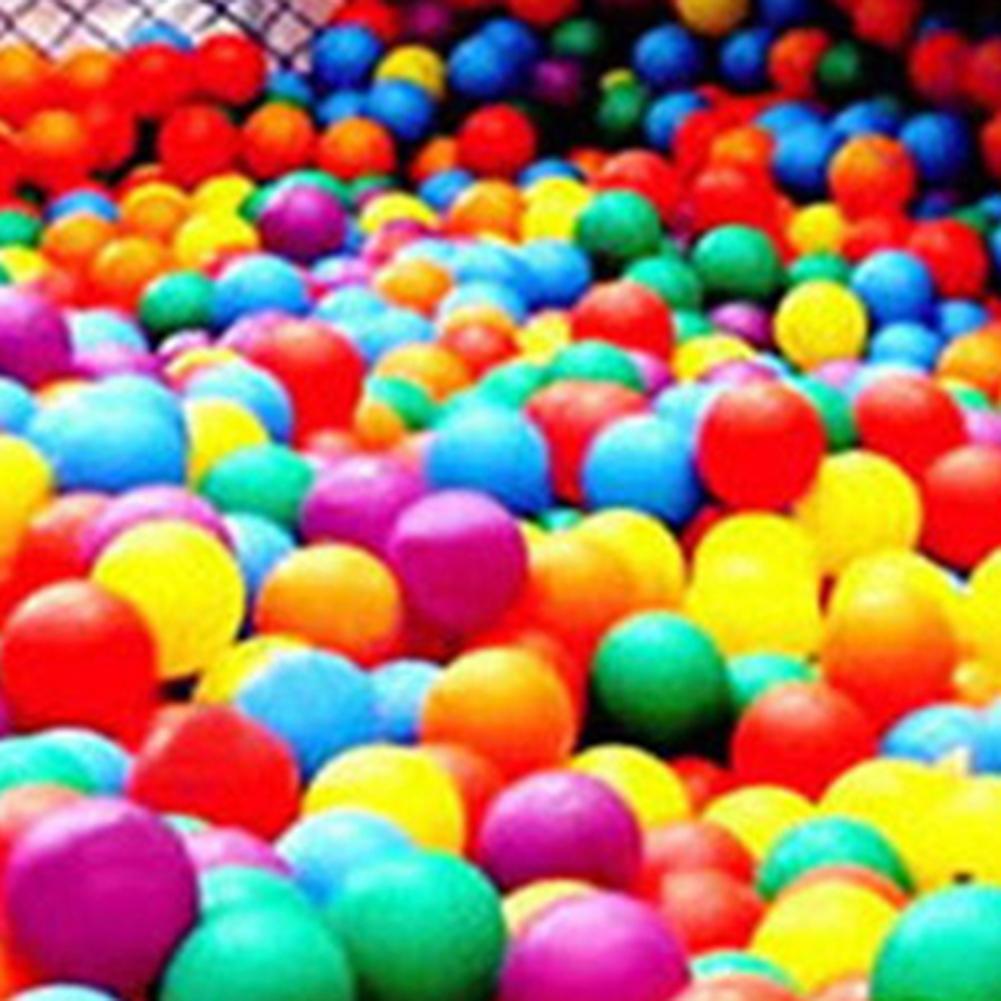 50 шт. разноцветные мягкие пластиковые шары Для океан безопасные нетоксичные детские палатки домик игровые шары для детей уличный бассейн д...
