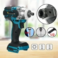 wenxing 18v 520nm cordless brushless impact electric screwdriver stepless speed rechargable driver adapted to makita battery
