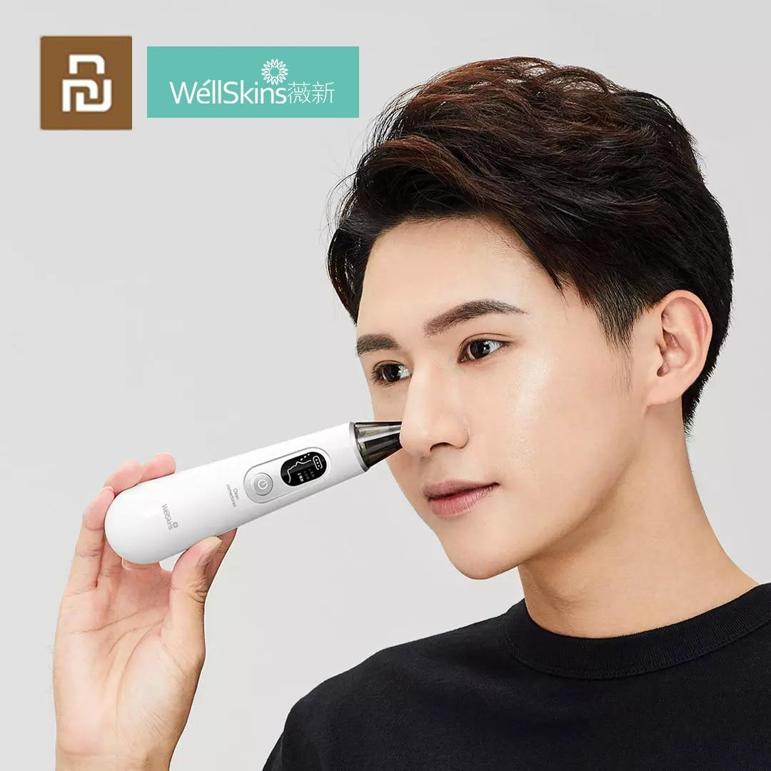 جديد شاومي ويلسكين البثرة الأنظف WX-HT100 تنظيف الجمال فراغ شفط التنظيف العميق للبشرة المسام الوجه التطهير