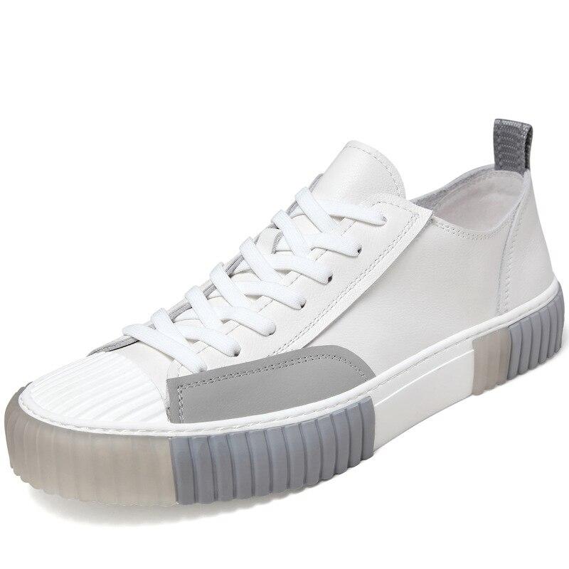 spring autumn breathable sneaker fashion boots men casual shoes, Leisure shoes British retro men shoes cowhide designer shoes