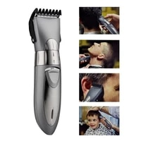 usb rechargeable waterproof hair clipper beard electric hair trimmer shaver body hair mustache shaving trimmer haircut