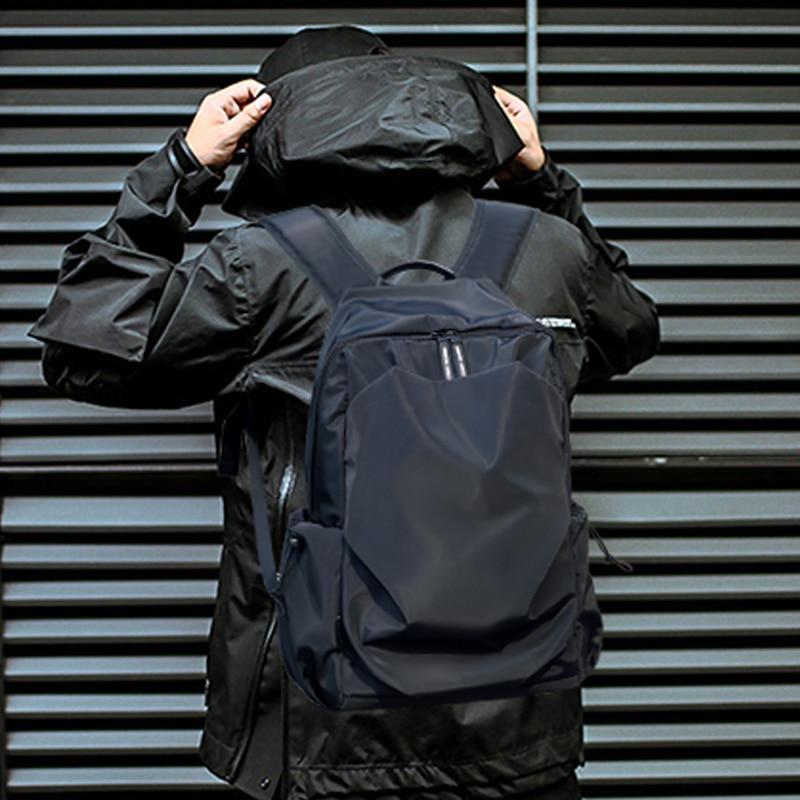 Мужской рюкзак модная школьная сумка водонепроницаемый рюкзак для мужчин с внешним зарядным устройством USB, мужской рюкзак