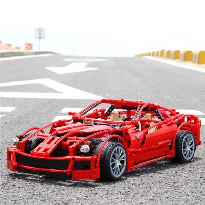 Garemila 3333/F Lali G55 coche 1322 Uds. Modelo super deportivo de ensamblaje de componentes educativos de juguete engranaje de bloques de construcción de regalo de coche
