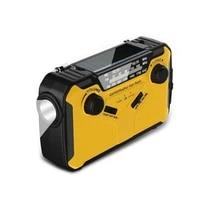 p82f 2000mah solar hand crank portable amfmnoaa weather radio with flashlightreading lamp phone charger