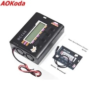 aok bc168 1 6s 8a 200w super speed lcd intellective balance chargerdischarger for lipo battery rc toys