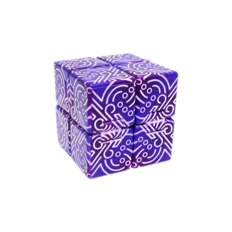 Genshin Impact Kids Stress Relief Cube Toys Boss Thunder Elemental Monster Project Cosplay Props Boy Girl Gift Unlimited Spin enlarge