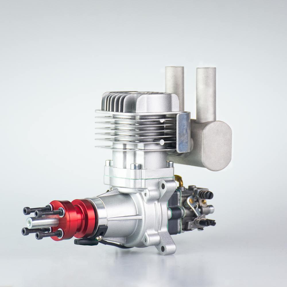 RCGF 35cc أنبوب العادم الخلفي ، محرك بنزين/بنزين لطائرة RC