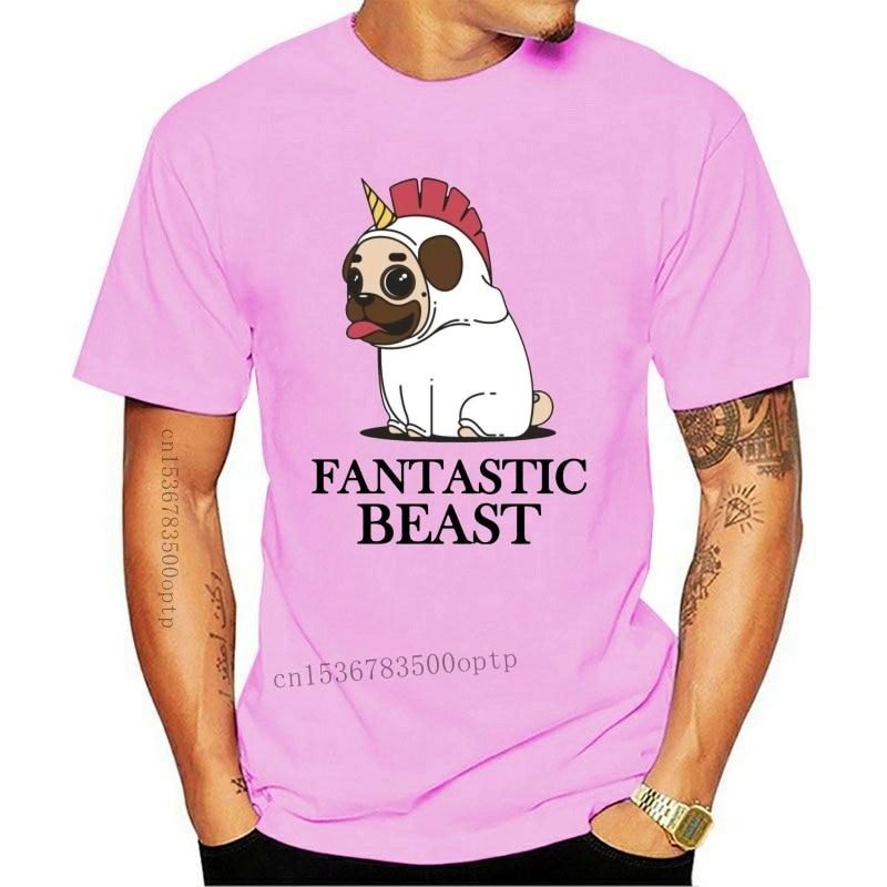 New Pug Fantastic Beast Unisex Adult Or Youth Light Tee Tshirt T-Shirt 2021 Funny Tee Shirt