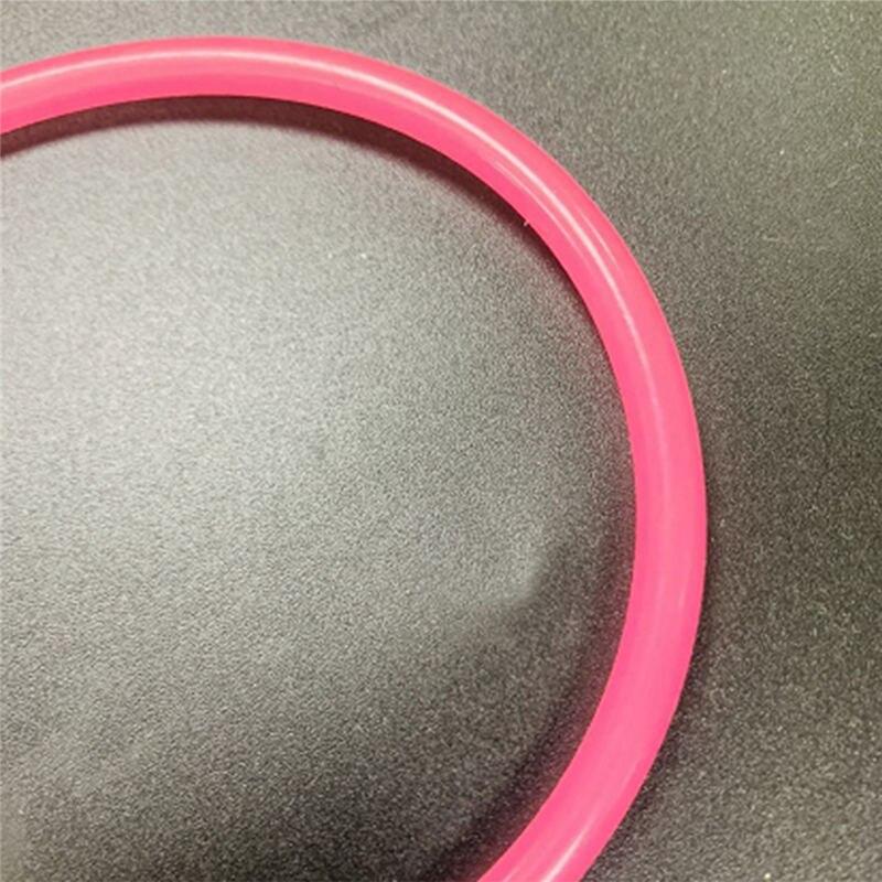 30cm de largo tubo de aceite tubería para TOYAN cuatro modelo de derrame del modelo del motor de coche modelo de nave edificio accesorios-rosa