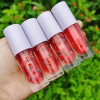 2021 base private label vendor clear custom tubes kit glitter wholesale roll on flavored organic cute high quality lip gloss