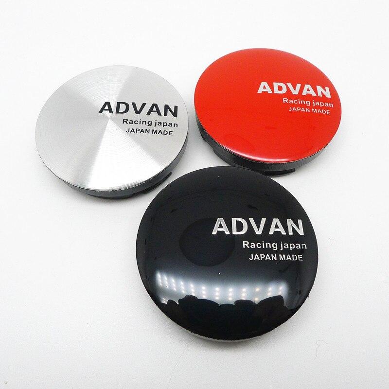 4 шт. 56 мм для ADVAN колпачок на ступицу колеса s колпачок эмблема значок автомобильные диски пылезащитный чехол Аксессуары для стайлинга автом...