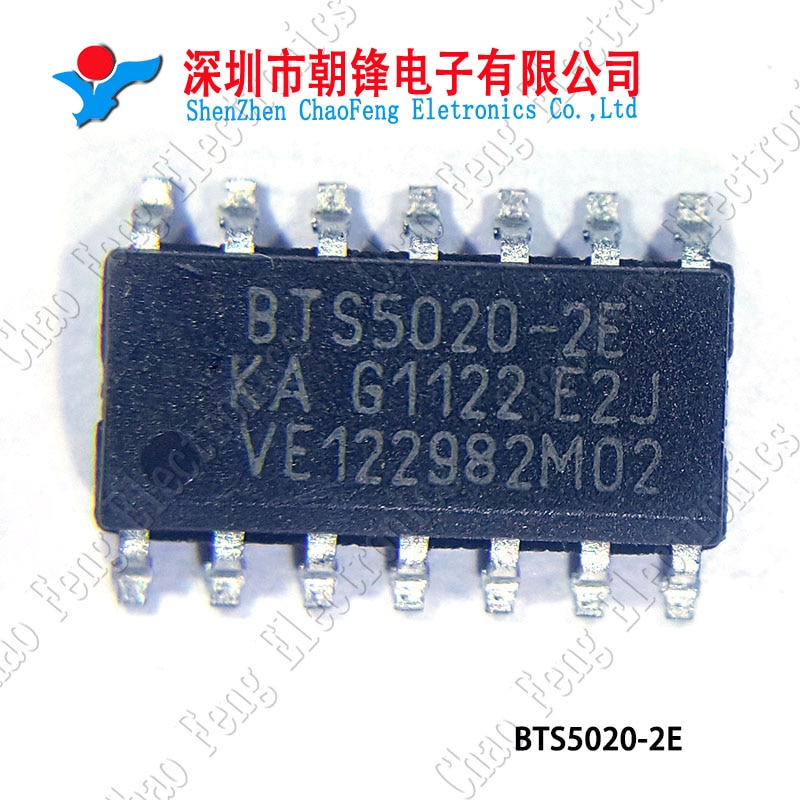 5 uds. BTS5020-2E BTS5020 SOP14 nuevo original