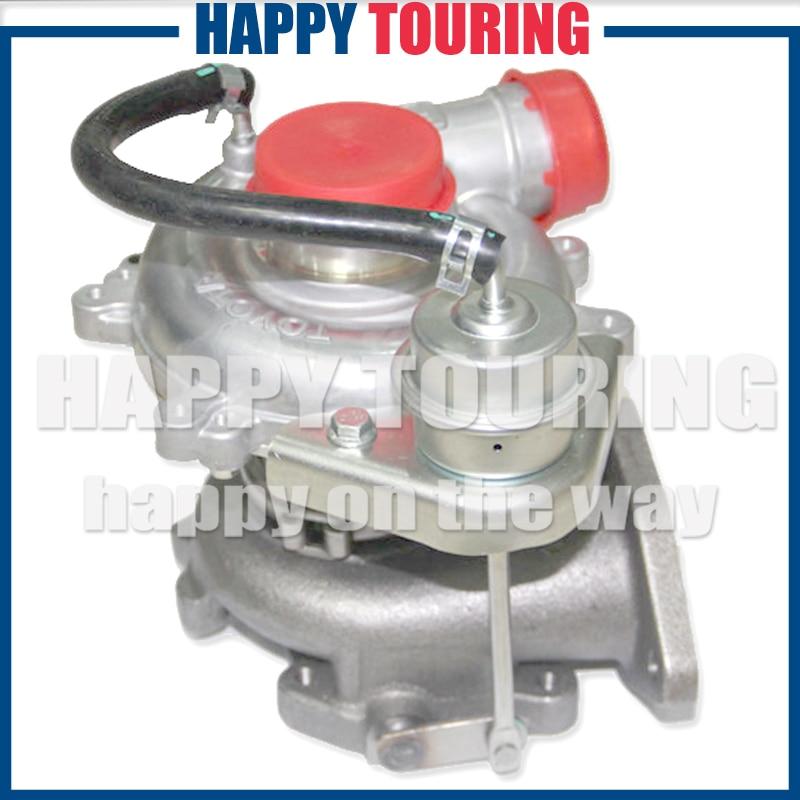 Nuevo turbocompresor completo turbo CT16 turbolader de montaje de turbina para Toyota Hiace Hilux 2.5L 2KD-FTV/2KD motor diésel 17201-30080