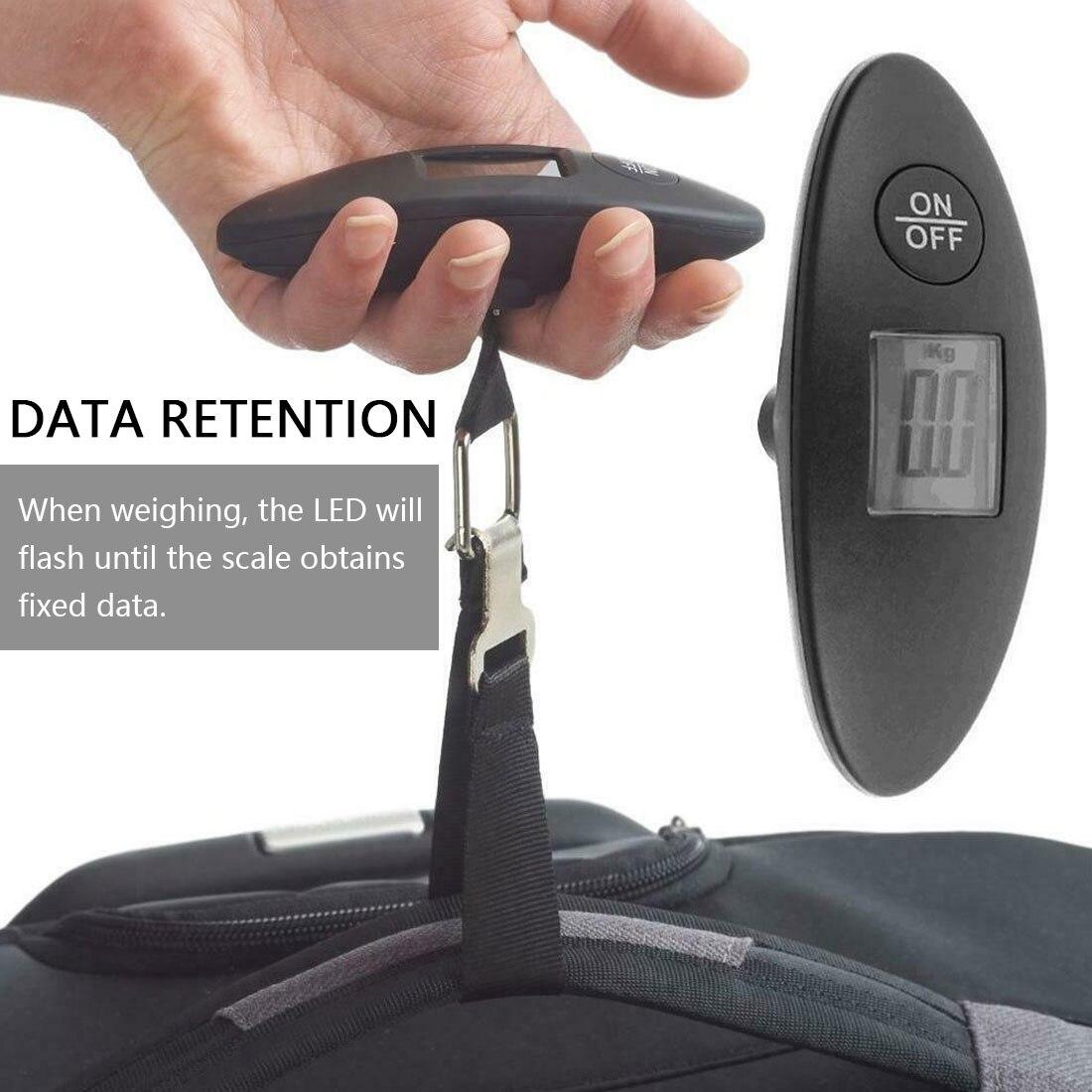 1 шт. 40 кг/100g ЖК-дисплей цифровой электронный Чемодан весы Портативный чемоданов обрабатываются дорожная сумка взвешивания рыболовного крю...