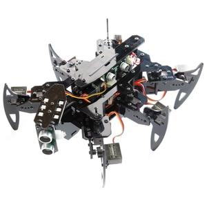 Adeept Hexapod Spider Robot Arm Toys Kit Stem Robotics Kit For Arduino Toys For Children Adult