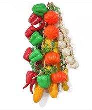 Simulation poivron rouge maïs ail arachide sementes plantas frutiferas légumes modèle hôtel jardin