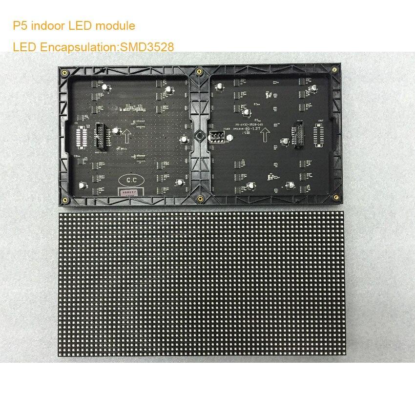 P5 LED وحدة مصفوفة rgb داخلي led عرض كامل اللون led لوحة 320*160 مللي متر 64*32 بكسل مرنة شاشة التلفزيون HD مرحلة عرض الفيديو