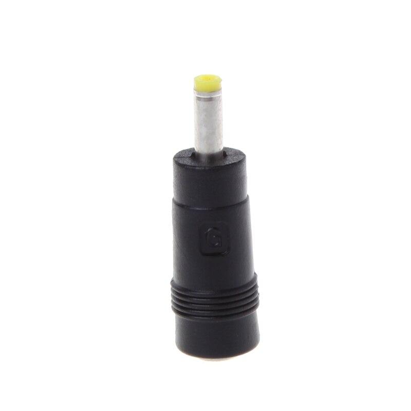 Nuevo 5,5x2,1mm hembra Jack a 4,0x1,7mm macho potencia CCTV DC adaptador de conector de enchufe