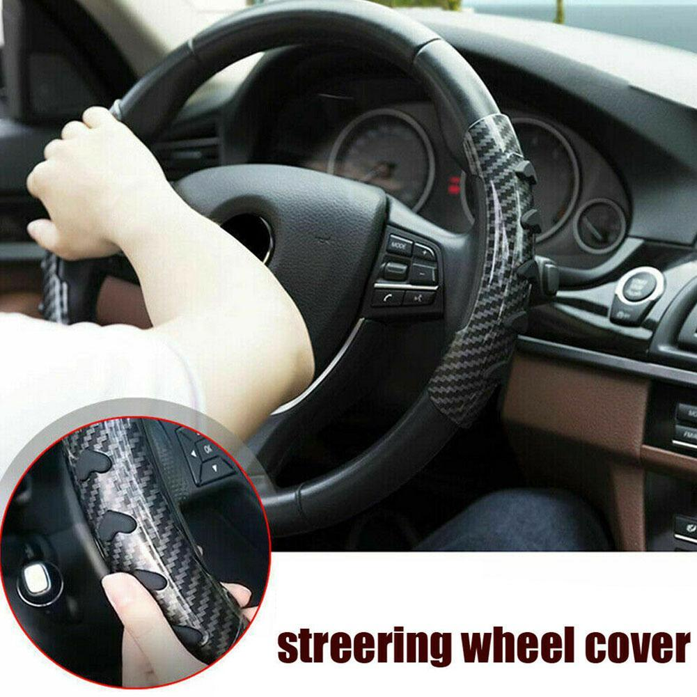 1 Pair 360-degree Rotation Non-slip Car Steering Wheel Cover Steering Wheel Booster Car Auxiliary Rotator Booster Pad Auto Parts