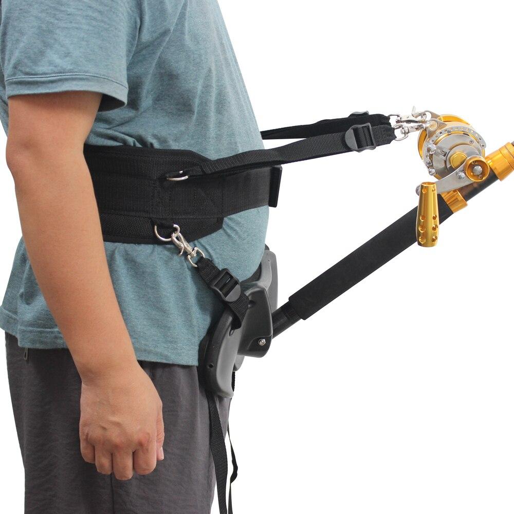 Adjustable Fishing Fighting Belt Fishing Rod Holder Offshore Stand Up Fishing Fighting Belt Waist Rod Holder Fishing Tool enlarge
