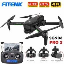 FITENK ZLRC SG906 Pro/ SG906 Pro 2 Brushless GPS Drone avec 5G Wifi FPV Caméra 4K à Trois axes Cardan Professionnel Quadrirotor Dron