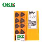 WNMG080408-OPM OC2125 100% оригинал Китай OKE твердосплавная вставка с лучшим качеством 10 шт./лот Бесплатная доставка