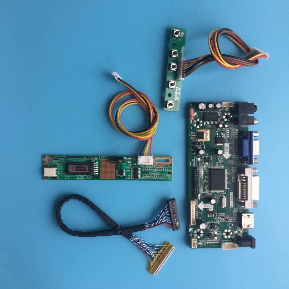 """Para controlador placa driver LTN150XB-L03/l01/l02 samsung m. nt68676 30pin lcd diy vga lvds led hdmi kit dvi painel 1024*768 15"""""""