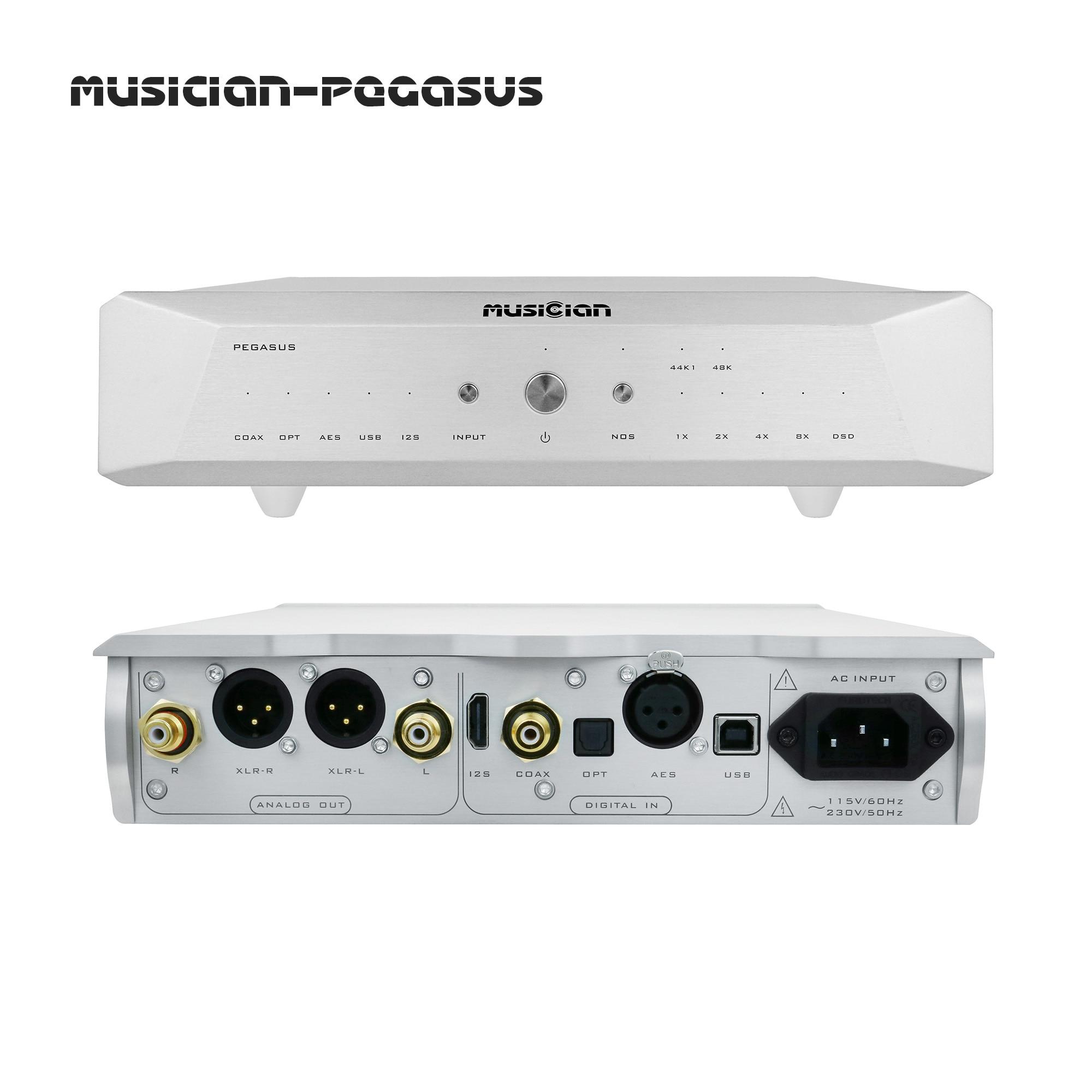 MUSICIAN PEGASUS 32Bit/1536kHz 24Bit R2R DAC 6BIT DSD Balanced Resistance DAC Support DSD1024 SPDIF Receiving Scheme R2R Decoder