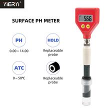 Yieryi Professional Skin PH Tester For Beauty&Health Surface pH Checker for Soil,Leather, Paper, Emu