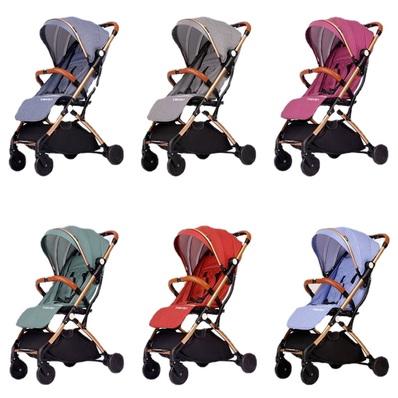 Light Baby Stroller Portable Can Sit Lie Travel Stroller Baby Car Baby Carriage Four Wheels Stroller Pushchair Baby Stroller enlarge