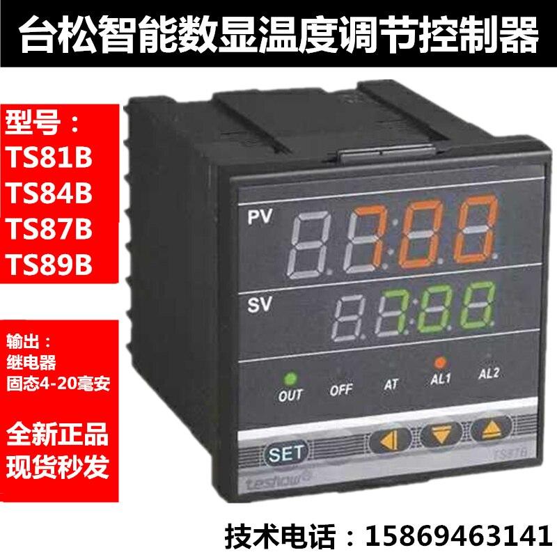 Taisong teshow ترموستات التبديل درجة الحرارة قابل للتعديل TS81B/84B/85B/87B/89B-2 متحكم في درجة الحرارة