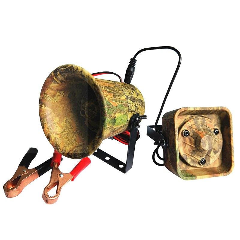 Caça ao ar livre chamarizes mp3 pássaro som amplificador alto-falante construído em 200 pássaro vozes predador som chamador mp3 player camuflagem