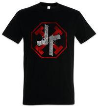 Pistolet Kata T-Shirt równowaga Symbol znak Logo John Insigina Preston Cleric