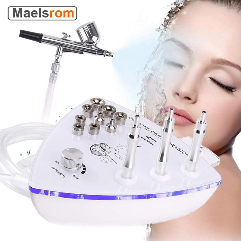Diamond Dermabrasion Exfoliation Machine Nano Moisturizing Water Sprayer Remove Blackhead Wrinkle Facial Peeling Machine