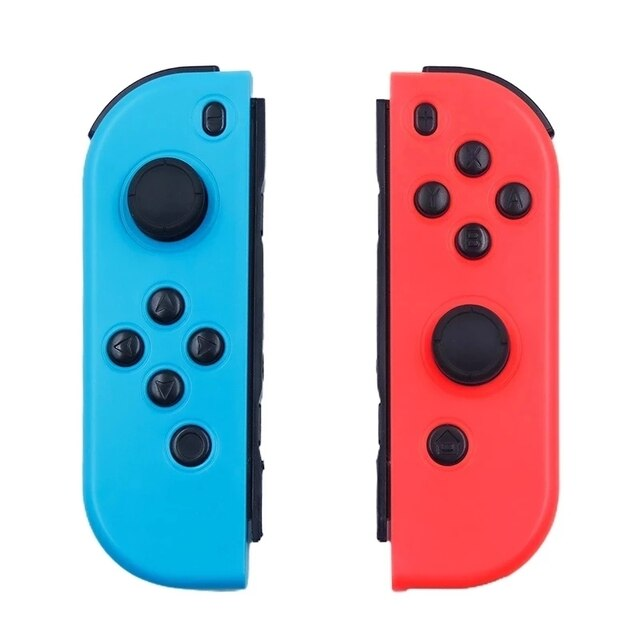 2021 New Bluetooth Wireless Controller for Nintend Switch joy Left & Right Console Joystick Red and blue Bluetooth Function