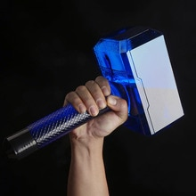 Thor's Hammer Hammer Large Capacity Sports Water Bottle Solid Hammer Water Cup Plastic Cup Dumbbell