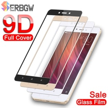 9D Tempered Glass On For Xiaomi Redmi 5 Plus S2 4X 5A Go Screen Protector For Redmi Note 4 4X 5 5A Pro Protective Glas Film Case