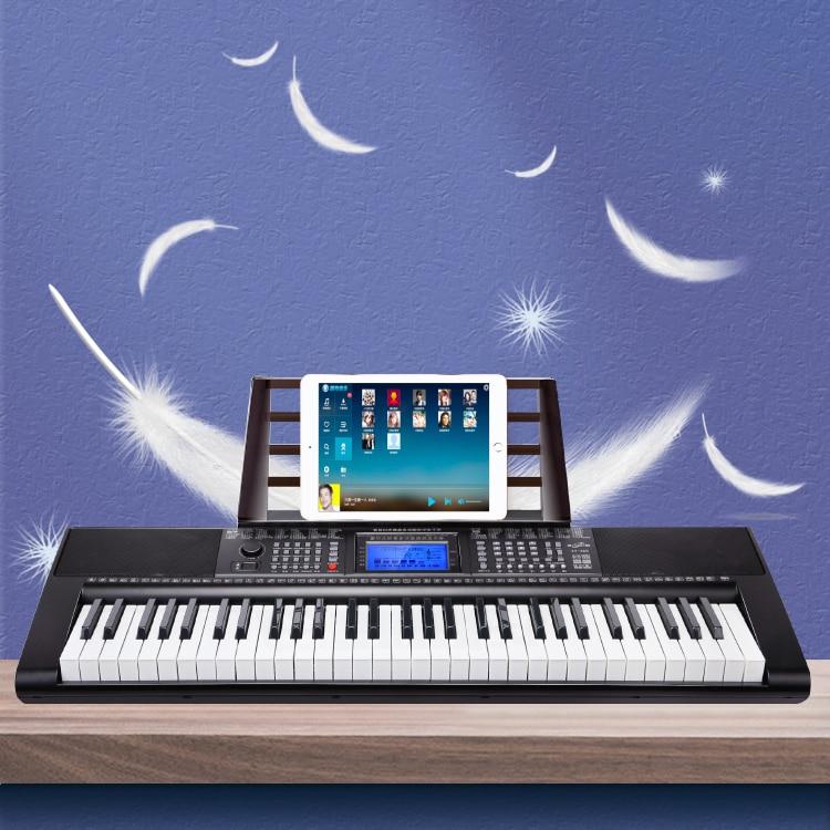 Adult Electronic Keyboard 61 Key Black Synthesizer Electronic Keyboard Stand Basis Tastiera Musicale Musical Instruments EI50EK enlarge