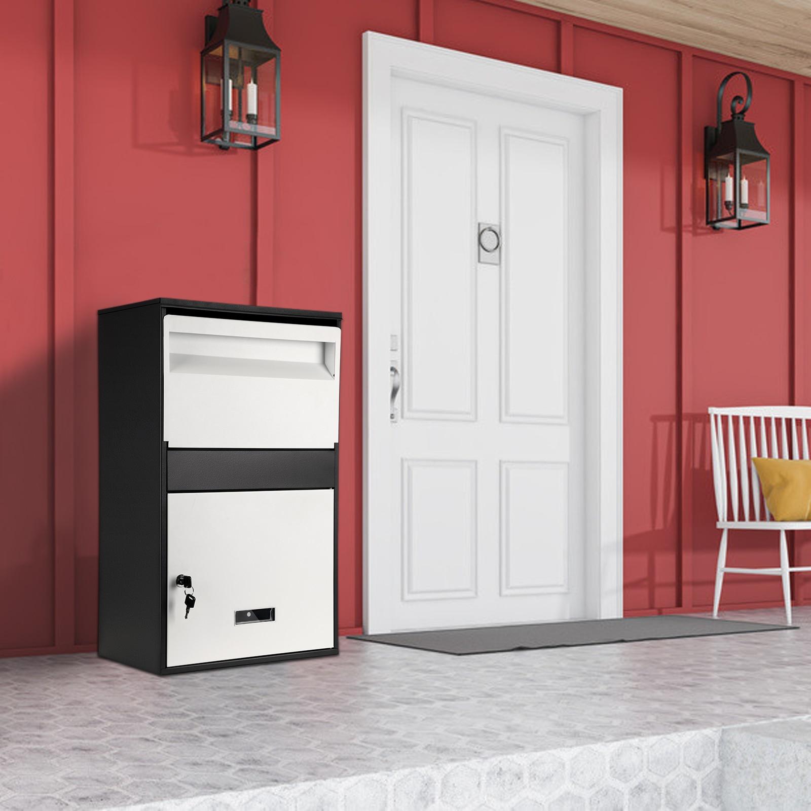 الأسرة اكسبرس خزانة خاصة المنزلية مكافحة سرقة صندوق الطرود في الهواء الطلق قفل المخزن صندوق تقديم الحائط كبيرة