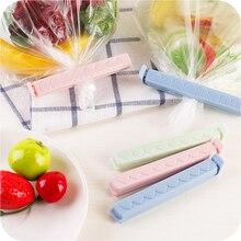 5pcs /Lot Storage Of Food Snacks Sealed Sealing Bag Clips Sealer Food Bag Clips Kitchen Tool Home Food Close Clip Seal