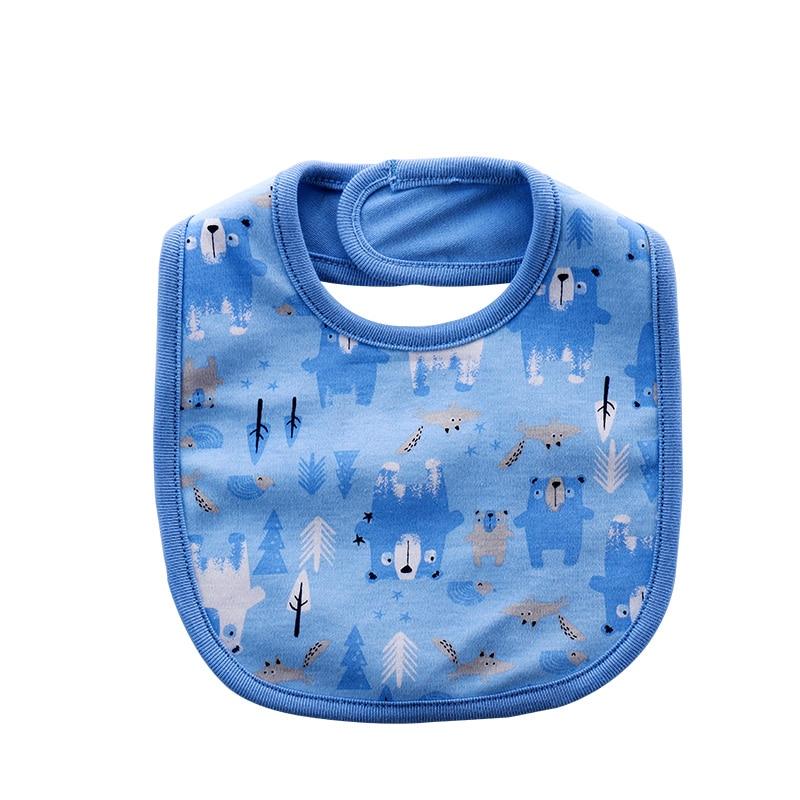 Double waterproof saliva towel 12 months newborn baby bib cotton baby bib bib bib