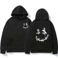 men women sweatshirts cardigan harajuku hip hop hoodies male fashion cool printed streetwear mens clothes outwear big size 3xl