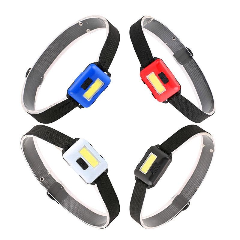 Cob Led Mini head light lamp Headlight 3 Modes Rainproof Head Torch Flashlight Head For Outdoor Camping Fishing